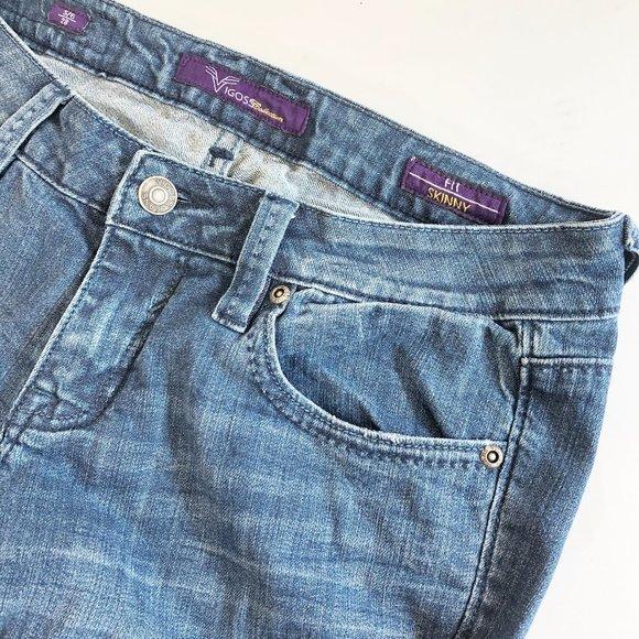 Vigoss Denim - Vigoss  Low Rise Skinny Fit Jeans 28 5/6